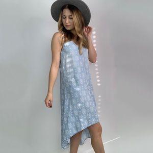 Cloth & Stone Tencel High Low Printed Dress
